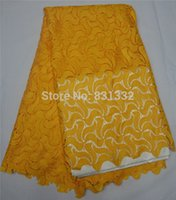 french lace - AMY0816B YD Afrian French Lace African French Lace Fabric High Quality For Nigerian Traditional Wedding Dress