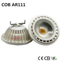 LED AR111 15W COB Epistar LED, ES111, QR111, gu10 g53 AC85-265V DC12V, blanc frais chaud naturel, égal à la lampe halogène 120w