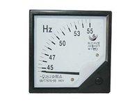 Измеритель частоты аналоговой панели Отзывы-Оптово-Brand New Профессиональный аналоговый метр панели частоты Gauge 45-55Hz [K207]