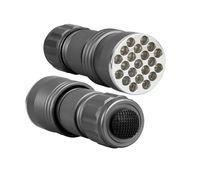 Wholesale UV Ultra Violet Blacklight LED Flashlight Torch Lamp Light UV nM takes Standard AAA Batteries