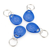 Wholesale 4Pcs Hot Sale New Proximity ID Token Tag Key Fob Khz RFID Plastic Water Resist Access Control Use
