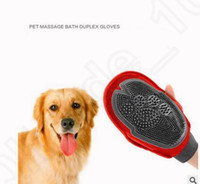 Wholesale Pet Cat Dog Puppy Grooming Massage Hair Mitt Bath Brush Comb Hair Removal Glove Long Short Hair Comb Hair Removal Glove KKA15