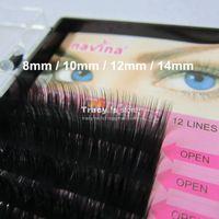 Wholesale Retail C Curve mm MINK Eyelash Extension Artificial Eyelash Fake False Eye Lash Eyelashes