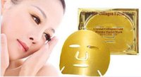 anti aging health - Gold Crystal Collagen mask Gold Bio Collagen Facial Mask Face Masks moisture replenishment whitening mask peels health skin care make up