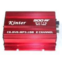 Amplifiers active crossover car audio - Mini Audio Stereo Amplifier Car Motorcycle Boat MP3 DVD Active crossover subwoofer network M7610
