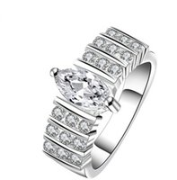 Wholesale hot Sterling Silver Jewelry ring men women use ring quality ring