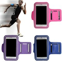 Wholesale Anti Sweat Sports Gym Running Armband Arm Band Case Cover for iPhone Plus Inch Arm Belt Band Travel for iphone plus