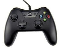 Cheap Black Wired 360 Controller For XBOX One PC game controllers joysticks XBOX360 Game JoystickJoypad For Xbox One with retail Box