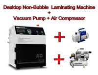 automatic vaccum - Automatic Vacuum Non Bubble OCA Laminating Machine Air compressor Vaccum pump no need remove bubble