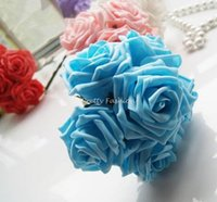 foam flowers - New Colourfull Foam Roses Artificial Flower Wedding Bouquet Party Decoration DIY Flower