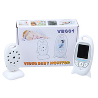 Wholesale 2 inch Color Video Wireless Baby Monitor Security Camera Way Talk Nigh Vision IR LED Temperature Monitoring with Lullabies