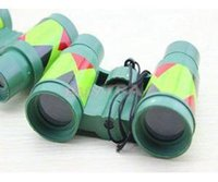 Wholesale Hot Selling Kids Children Novelty Toys Cheap Camouflage Binoculars With Low Price High Quality kid s Educational Binoculars