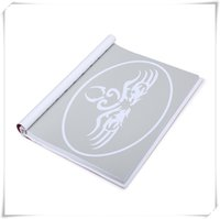 Wholesale 30 Big Designs In One Book For Temporary Airbrush Tattoo Stencil Booket Template For Body Paint