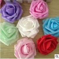 Cheap Wedding Decorative Flowers PE Best Decorative Flowers & Wreaths,Rose Flower Cheap Decorative Flowers