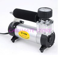 auto tire inflators - Hot selling Portable Car Pump Air Compressor Super Flow V PSI Auto Electric Tire Inflator fasting shipping