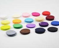 Wholesale DIY CM Round Felt fabric pads accessory patches circle felt pads fabric flower accessories