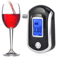 Wholesale Professional Digital LCD Breath Alcohol Tester for Police Portable Alcohol Tester