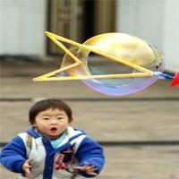 Wholesale 46 cm Large Western Blowing Bubble Sword Colors Mixed Big Dream Funny Soap Happy Children Kids Toy