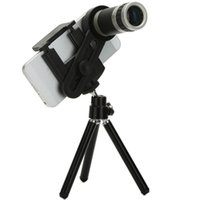 Wholesale Universial Mobile Phone Telescope X Zoom Optical Lens Camera Telephoto Black Color For iphone s s plus Samsung S6