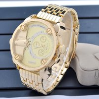 stainless steel manufacturers - Hot explosion models DIE New Mens watch fashion large watches manufacturers selling sports Wristwatch