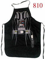 Wholesale 66 styles Giant Apron Superman Star Wars Anime Cartoon Character Darth Vader Kitchen Aprons Funny Personality Cooking apron Gift Dhgate