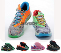 Wholesale KD What the KD Basketball Shoes For Kids Mens Womens Cheap KDs VI Elite Hot Sale Childrens KD6 Sports Sneakers
