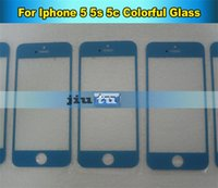 Cheap front glass for iphone 5G Best For outer lens cover iphone 5S