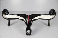 Wholesale Factory sale Full carbon fibre road bike integrated handlebar with stem bike parts accessories handlebar