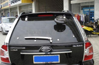 auto acces - xterior Accessories Chromium Styling For Kia Sportage ABS Chrome Rear Window Wiper cover trims Car Styling Auto Acces