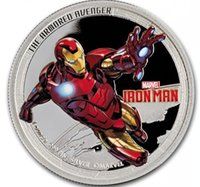 armored movie - 2 The Hollywood movie hero the marvel challenger armored avenger silver plated American souvenir coin