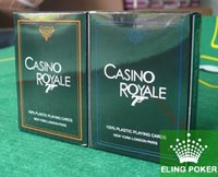 Wholesale lowest price CASINO ROYALE playing cards poker cards card games poker set sports cards