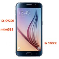 4g cell phones - S6 edge G9250 MTK6582 Quad Core Android Shown G RAM GB ROM Ghz Metal frame inch HD Screen Unlocked G Cell phone Show G LTE