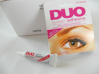 Wholesale Factory Direct DUO Water Proof Eyelash Adhesives glue G White BlacK Make Up Tools Professional By DHL