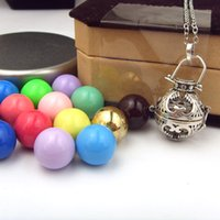Wholesale 925 Silver Cage For mm Ball Angel Caller Necklace Hollow Hearts Pendant Necklace