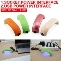 adapter for dryer - W Mini LED UV Light USB Data with Adapter Gel Curing Lamps Dryer for LED Gel Polish Fast Dry High Quality
