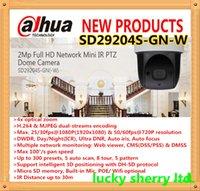 Wholesale DAHUA X MP Full HD Mini IR PTZ Dome Camera with WIFI Original English Version without Logo SD29204S GN W