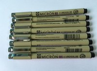 art drawing anime - 8pcs sakura Needle Point Pen Pigma Micron Drawing Pen Waterproof Manga anime comic Pen