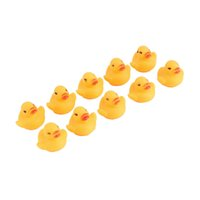 baby duck tub - Hot Selling Baby Bathing Bath Tub Toys Mini Rubber Squeaky Float Duck Yellow