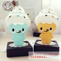 best light ice cream - 2015 Hot sale Ice cream man lamp eye lamp night light creative gifts battery computer best gift Custom Factory