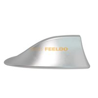 Wholesale Car Silver Waterproof Universal Shark Fin Roof Decorative Antenna With FM AM Radio Function gurantee qulity