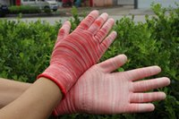 Wholesale Nylon PU coated grip safety work gloves