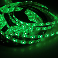 Wholesale 5m LED SMD waterproof V flexible light led m LED strip white warm white blue green red yellow