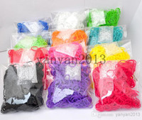 Other rubber band rainbow loom - DHL Best Selling Rainbow Loom Kit DIY Wrist Bands rubber band Rainbow Loom Bracelet for kids bands C clips