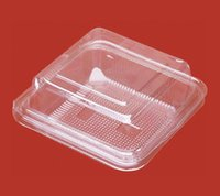 egg container - Plastic Egg Tarts Box Sushi Box clear Poffs Container Cake Box