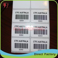 barcode label design - Customized Custom Self Adhesive sequential number barcode label manufactures fancy design numbered adhesive labels