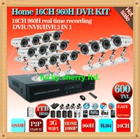 surveillance video camera - CCTV Channel CCTV surveillance System TVL dome indoor IR Cameras ch DVR recorder Kit Security CCTV video System