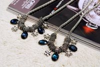 Cheap Pendant Necklaces 2015 collarbone necklace Best european Women's short necklace