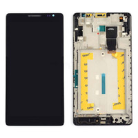 Wholesale Frame Black LCD Display Touch Screen Digitizer Assembly Replacement For Huawei Ascend Mate MT1 U06