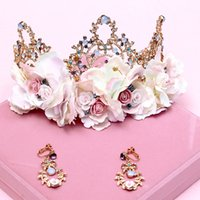 acting articles - The bride adorn article female lei crown deserve to act the role of knot wedding wedding hair accessories