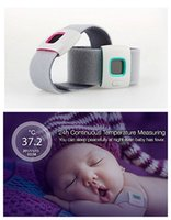 Wholesale Vipose Ifever child intelligent thermometer wearable electronic bluetooth home smart baby thermometer Temperature Monitoring for iOS Android